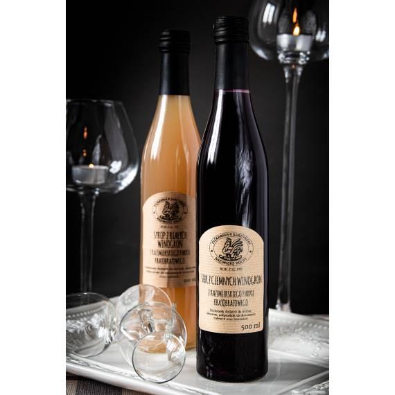 Sok z ciemnych winogron 500 ml