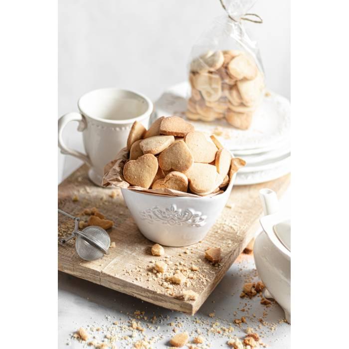 Ciasteczka maślane serduszka