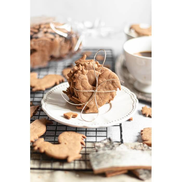 Ciasteczka serduszka korzenne